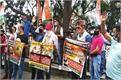 shimla congress protests