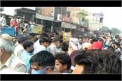 angry relatives on protest goes communal