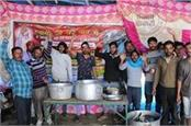downfall in langer during amarnath yatra