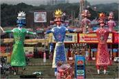 vijayadashmi will celebrate dussehra with president in red fort pm modi