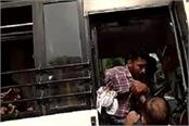 policeman s felony fails to hit private bus driver