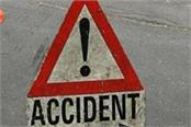 bike rider injured in a tractor trolley collision