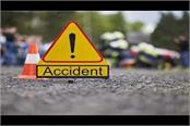 amethi child dead in road accident