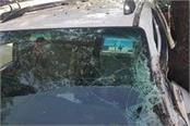 bjp state president subhash barla s car crash