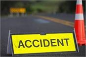 two people died in bus and motorcycle collision