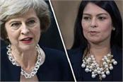 priti patel joins rebels as mays brexit challenge mounts