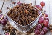 is it better to eat the raisins soak in water