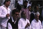 thousands of workers in palwal announced to leave the inld
