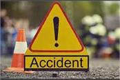 una road accident driver death