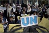 india urges to increase contribution for palestinian refugees in un