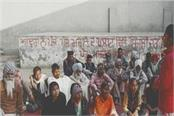 students and laborers brought out rallies in villages