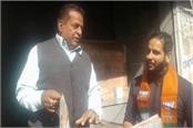 shopkeeper questions bjp workers