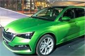 new skoda scala hatchback unveiled in event