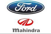 ford india s vehicles sales decline mahindra grew