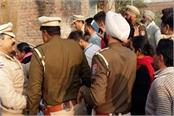 tension in 2 sides for establishment of idol in village mangar