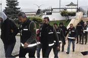 turkey remands in custody 118 soldiers over suspected fetö links