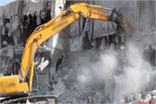 ended the date of notice bulldozers will run on 150 building