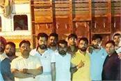 hindu organizations caught a truck full of cows