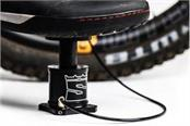 foot operated stompump tire inflator developed for your bicycle