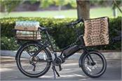 cargo e bike developed for cyclists who need to transport goods around the city