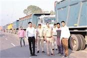 54 overloaded vehicles seized from highway imposed 31 lakh fines
