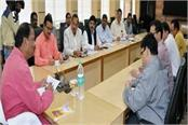 chief minister meets with officials of power grid corporation of india