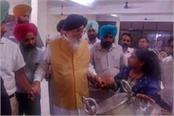badal checked projects started by harsimrat