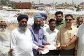 lifting slower wheat flour in mandis