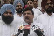 against majithia still on stand sanjay singh