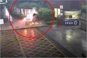 alcohol drunk driver dies in school gate watch dangerous video