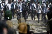 students refused to end protests in kashmir