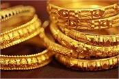 gold rises on jewellers  buying