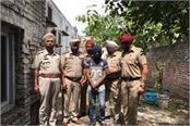 khanna police arrests gangster