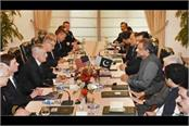 meeting between us and pakistani officials fear the rising sour inconclusive