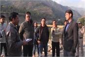 dm inspected the kedarnath yatra route