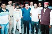 police arrested youth with heroin and hashish
