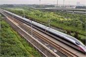 bengaluru chennai railway corridor will be taken from china to help speed up
