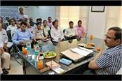 maham development works draft ready dgp ak dhul meeting of officials