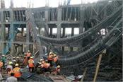 madhya pradesh two building collapses in building collapse 23 injured