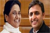mayawati and akhilesh will be seen on a stage for the first time today
