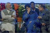 modi once again pleased mehbooba