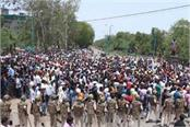 the government s sleep with the agitation of the peasant movement high alert