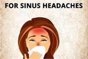 home remedies for sinus headaches