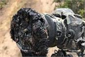 nasa s camera melt due to fire in the grass