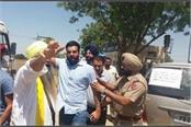 lakha sidhana in police custody