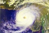 powerful cyclone mekunu churns in arabian sea