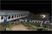 train collided with a truck on the track in italy 2 killed