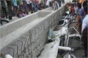 varanasi flyover accident triggered heart shocking photos