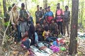 a naxalite stack in encounter with police in simdega