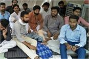 indefinite strike on 14th day of student association in amu